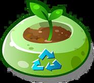 Sun Cost Plant Pot Icon