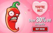 Jalapeno Valentine ad