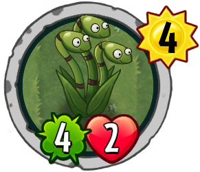 Plants Vs Zombies Heroes Central Event Card Analysis Snake Grass