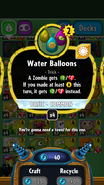 Water Balloons stats