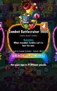 Zombot Battlecruiser 5000 Conjured by Cosmic Scientist