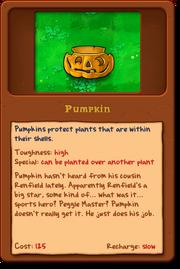 New Pumpkin almanac