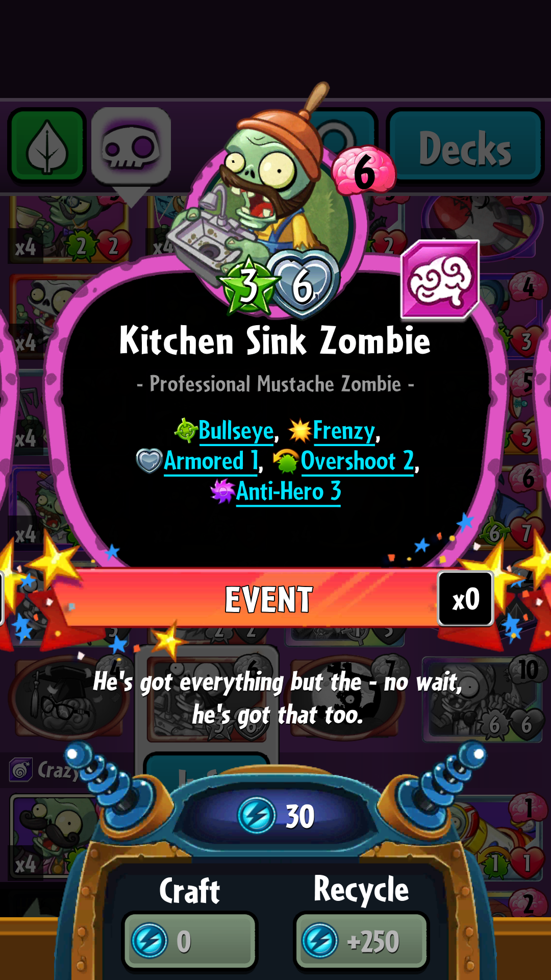 Everything But The Kitchen Sink Idiom kitchen sink zombie | plants vs. zombies wiki | fandom powered