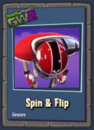 Pvzgw2 spin and flip all star gesture sticker