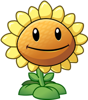 File:Plants vs zombies 2 sunflower by illustation16-d7gic8z.png
