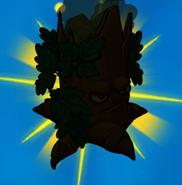 Poison oak silhouette