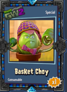 Basket Choy Sticker