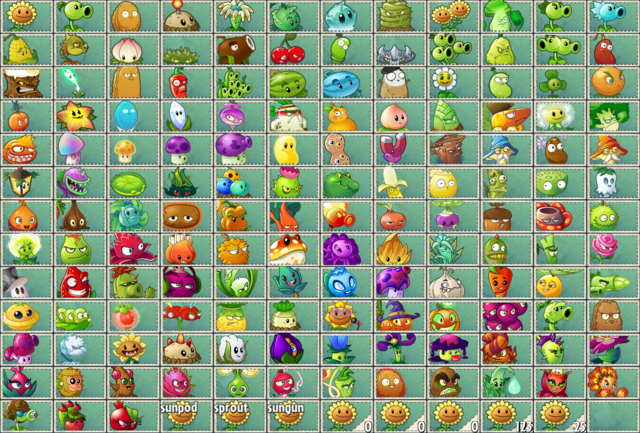 File:All Seed Packets in PvZ2 and PvZ2C.png.png