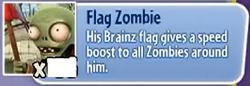 Flag Zombie gw