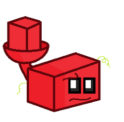 Brick-pult