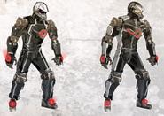 Cybrid Joe Concept Art 3
