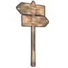 Double Sign Post icon