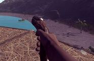 Eoka Pistol in game