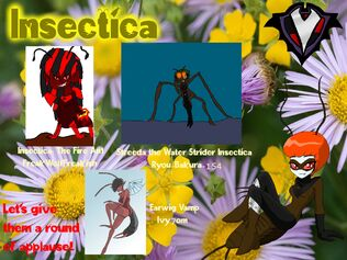 Insectica Spring Fever Participants