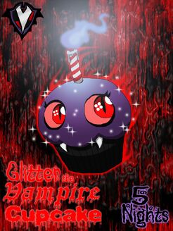 5 Nights - Glitter the Vampire Cupcake