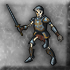 Elite skeletal swordsman