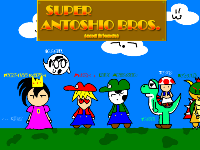 File:Super antoshio bros group by nekofangirl28-d561xzy.png