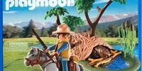 5895 Park Ranger with Beaver Den