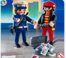 4269 Police Officer with Robber