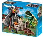 Playmobil-dinosaur-t-rex-with-volcano-saichania-5230