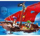 4444 Pirate Cannon Boat