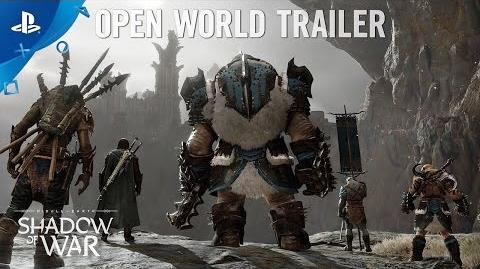Middle-earth Shadow of War - Open World Trailer PS4