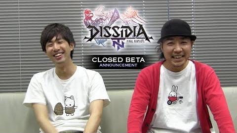 DISSIDIA FINAL FANTASY NT - Closed Beta Annoncement