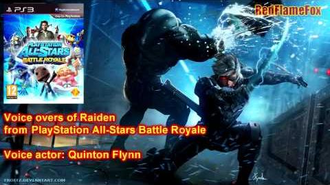 PlayStation All Stars Battle Royale Raiden Voice Over