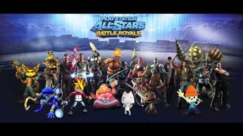 Playstation All-Stars Battle Royale Music Time Station - Resistance