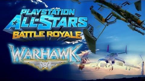 Playstation All-Stars Battle Royale Warhawk