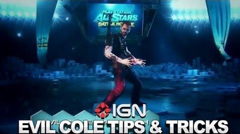 Seth Killian's Evil Cole Tips & Tricks - PlayStation All-Stars