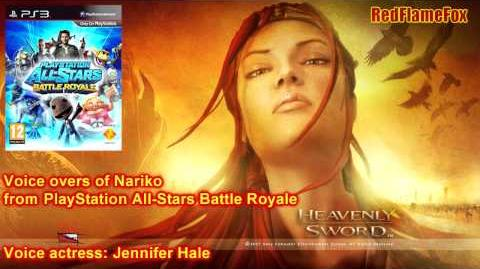 PlayStation All-Stars Battle Royale Nariko Voice Over