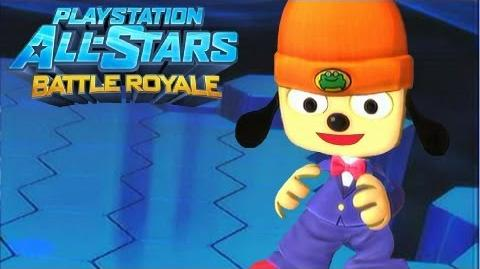 """Playstation All Stars Battle Royale Parappa """"Prom King"""" Costume Review (Commentary) (PS3)"""