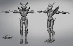 Dragon armor Zbrush