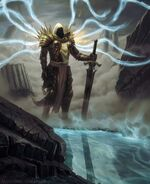 Tyrael-diablo-3-art-by unidcolor