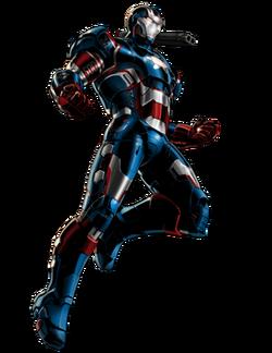 Patriot iron