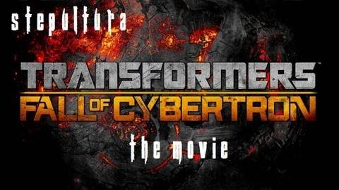 Transformers Fall of Cybertron Game Movie - Full Length HD