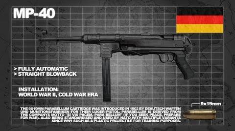 Z Armoury (Nazi Zombies Weaponry Guide) - The 'MP40' (The Afterburner)