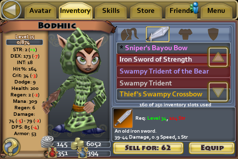 Iron Sword of Strength