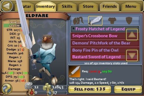 Bastard Sword of Legend