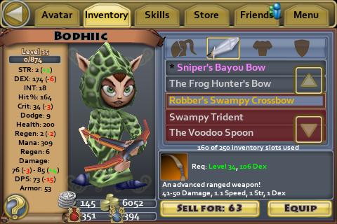 Robbers Swampy Crossbow