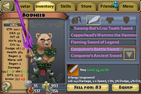 Conqueror's Battle Sword