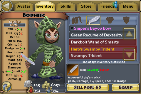 Heros Swampy Trident