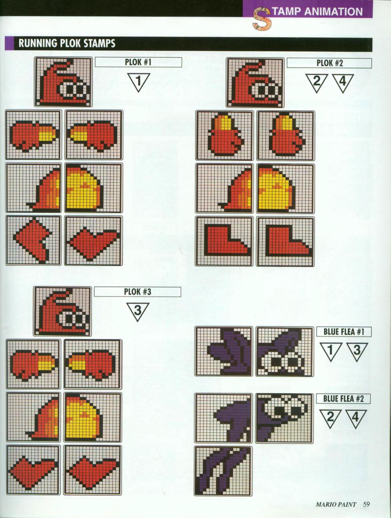 image - mario paint nintendo players guide 59 | plok! wiki