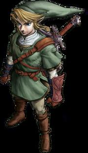 Link - główny bohater The Legend of Zelda