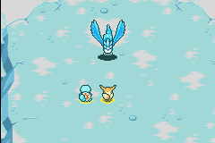 Articuno's first appearence