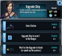 Upgrade Ship