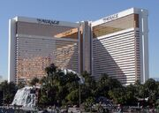 Mirage hotel exterior