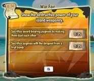 War fair