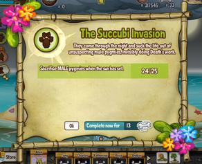 The Succubi Invasion quest